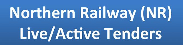 Northern Railway (NR) Live/Active Tenders