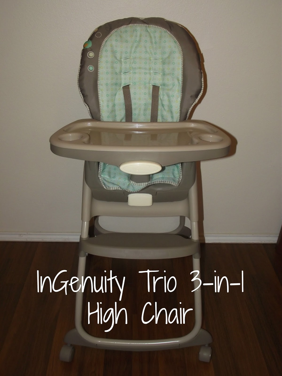 restaurant style high chair bottom pads the story of three ingenuity trio 3 in 1