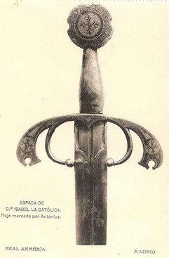 Espada de Isabel la Católica