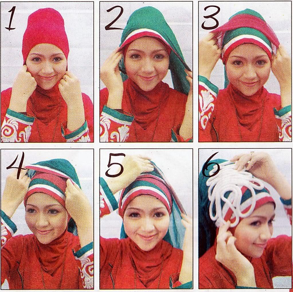 Tutorial Hijab Segi Empat Ala Dewi Sandra Tutorial Hijab Paling