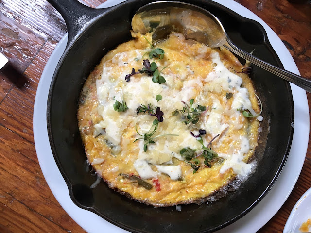 Cast Iron Frittata at Tasty n Sons, Portland, OR | A Hoppy Medium