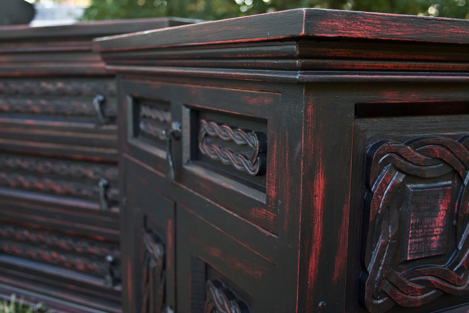 Super Modernly Shabby Chic Furniture Black And Red Dresser And Download Free Architecture Designs Lukepmadebymaigaardcom