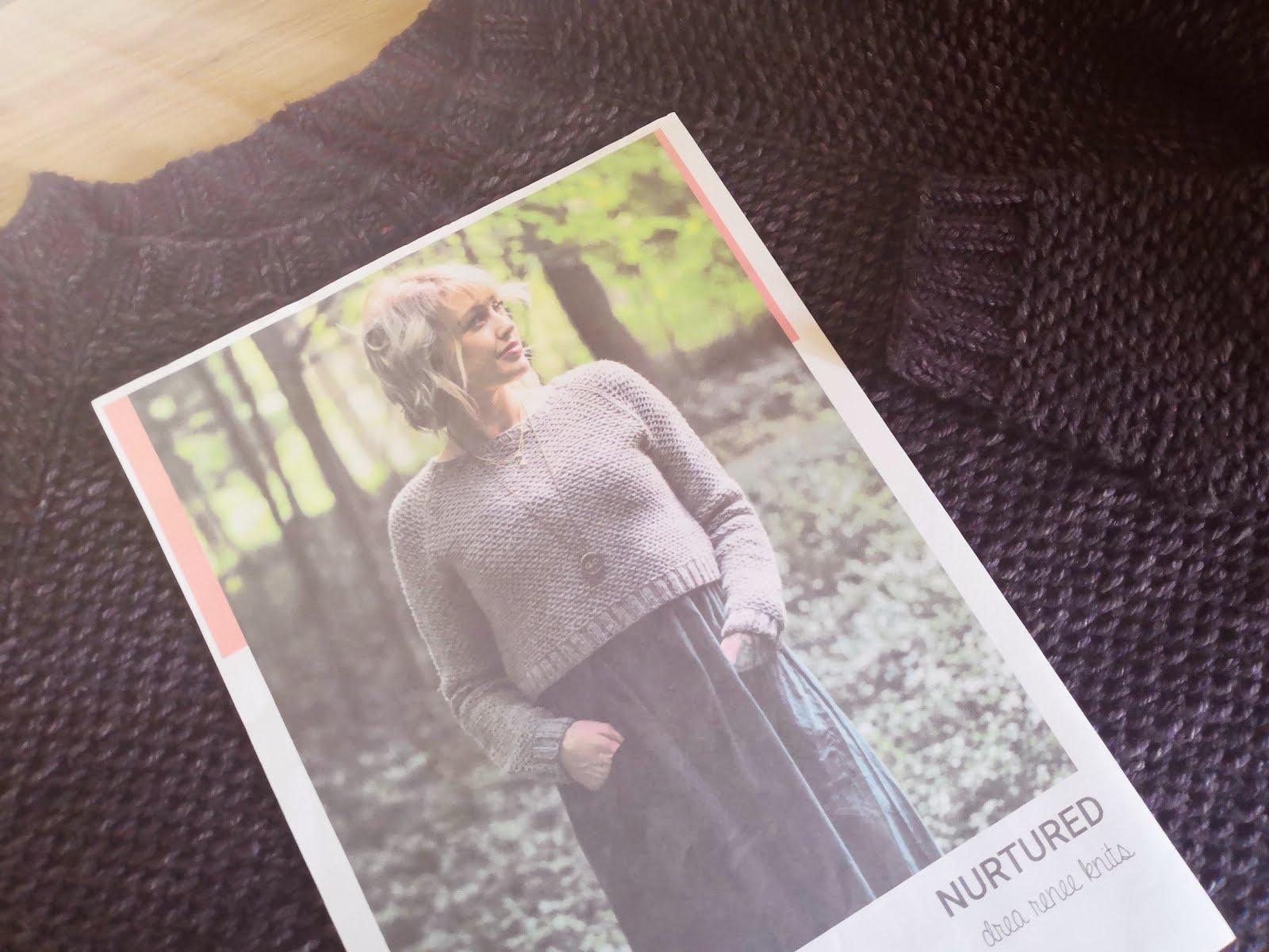 Nurtured Sweater Pattern Review