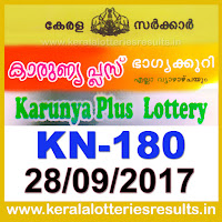 keralalotteries, kerala lottery, keralalotteryresult, kerala lottery result, kerala lottery result live, kerala lottery results, kerala lottery today, kerala lottery result today, kerala lottery results today, today kerala lottery result, kerala lottery result 28.9.2017 karunya-plus lottery kn 180, karunya plus lottery, karunya plus lottery today result, karunya plus lottery result yesterday, karunyaplus lottery kn180, karunya plus lottery 28.9.2017
