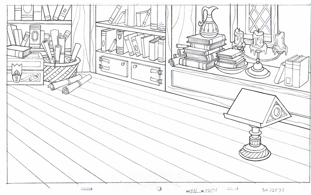 How To Draw Backgrounds For Animation