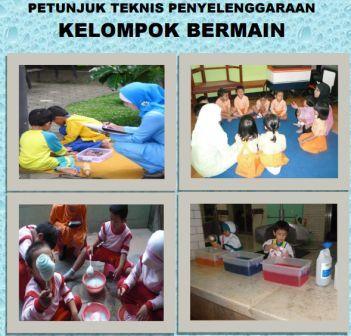 gambar Juknis Penyelenggaraan Kelompok Bermain (KB) paud-dikmas