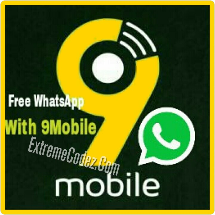 How To Use WhatsApp For Free On 9mobile Network Extreme Codez