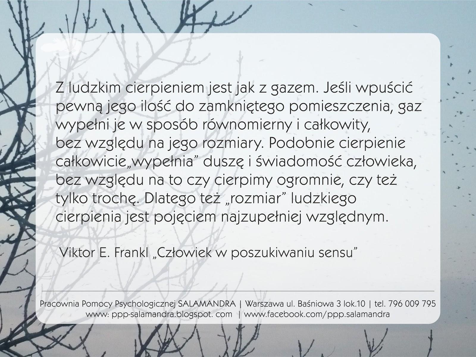 Dobry psycholog Warszawa radzi by nie bagatelizować cudzego cierpienia