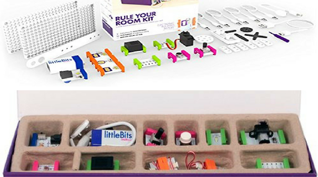 littleBits Rule Your Room Kit and littleBits Electronics Base Kit