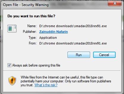 How to install SMADAV 2018 USB Antivirus in Easy Steps 1