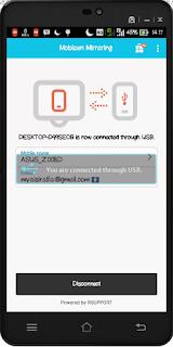Cara Remote Layar Android atau IOS dengan PC/Komputer Tanpa Koneksi Internet