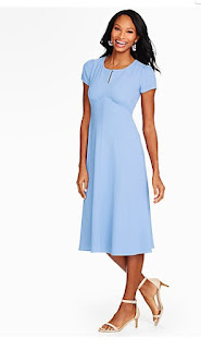 Pale Blue Dress from Lyst