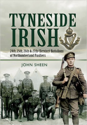 Cover of the Tyneside Irish, by John Sheen