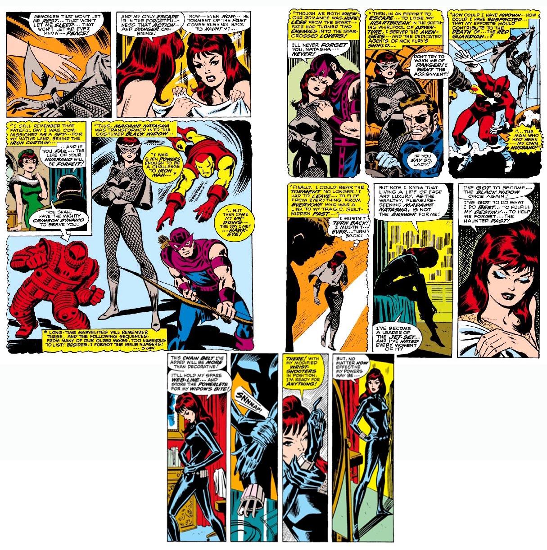 black widow comic strip - photo #5