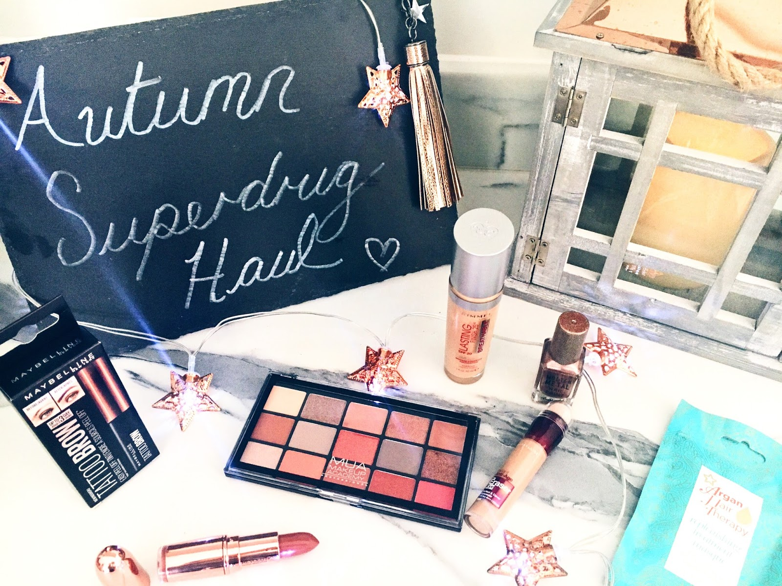 An Autumnal Superdrug Haul - New Drugstore Releases