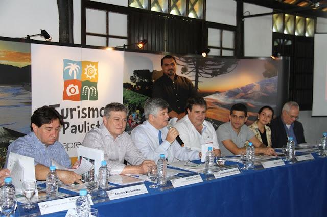 Secretário de Estado do Turismo Roberto Tricoli participou no sábado 14/05, na Ilha,  do 2º Encontro das 70 Estâncias -Aprecesp