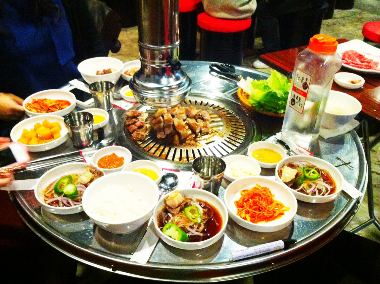 Mr. Korea BBQ in Tsim Sha Tsui