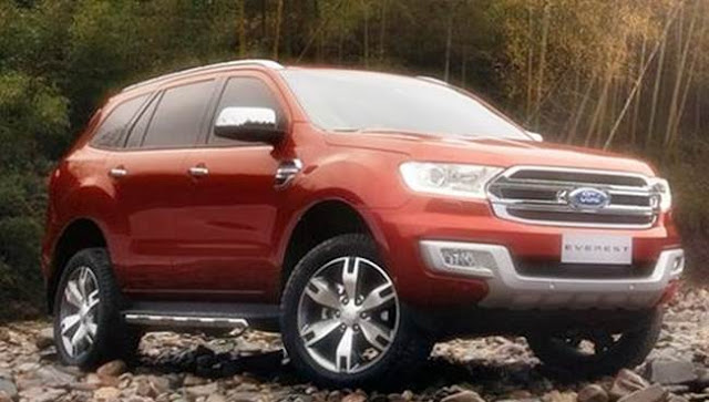 2017 Ford Everest USA