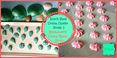 Beach Shells Cream Cheese Mints