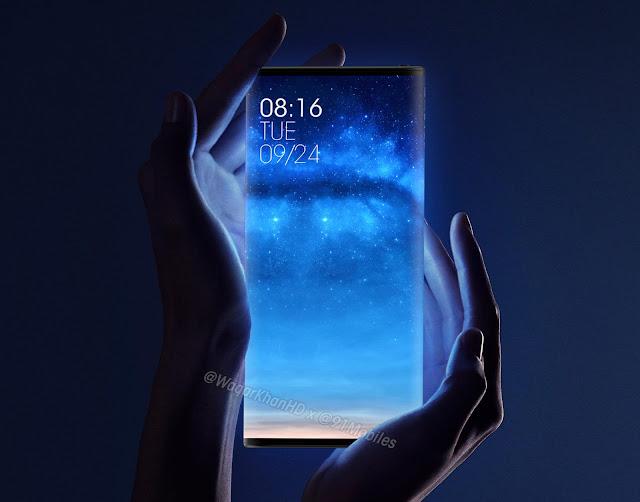Yeni Xiaomi Konsept Render, Mi Mix Alpha'nın pratik bir versiyonunu yeniden tasarladı