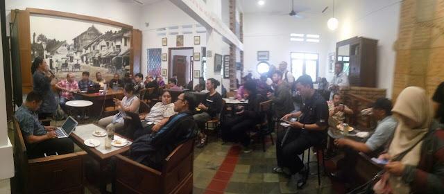Suasana Peluncuran Web Gis matapapua.org (Dok.DP)