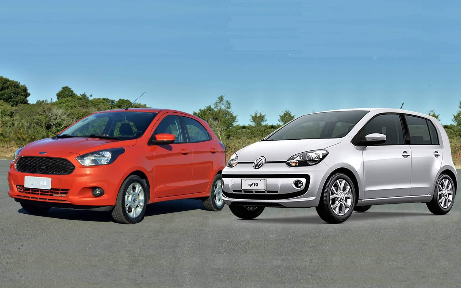 Ford Ka Problemas Com   Km X Vw Up Com   Km