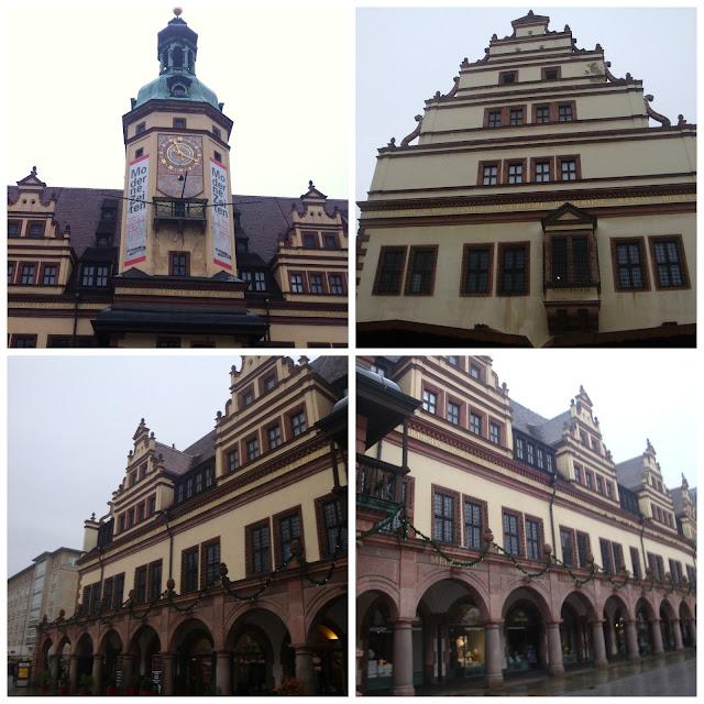 Markt e Altes Rathaus, Leipzig, Alemanha