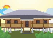 Rumah Adat Babel
