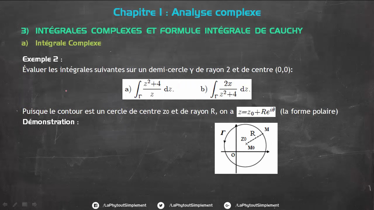 COURS ANALYSE COMPLEXE SMP S3 PDF