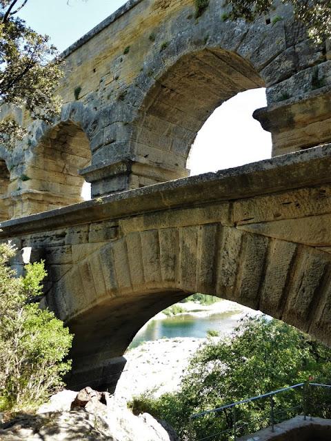Pont du Gard, detalle