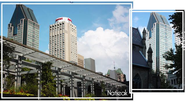 le building  La gauchetière Montréal