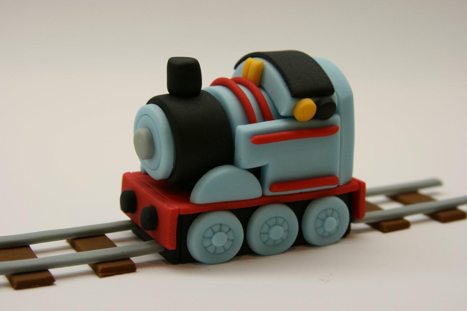Beautiful Kitchen Choo Choo Train Cake Topper