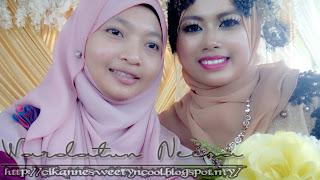 selfie dengan pengantin