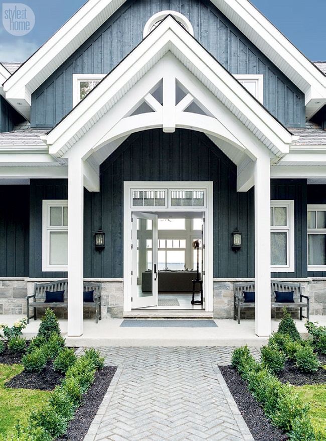 Mix And Chic An Effortlessly Rustic And Refined Family Ontario Cottage