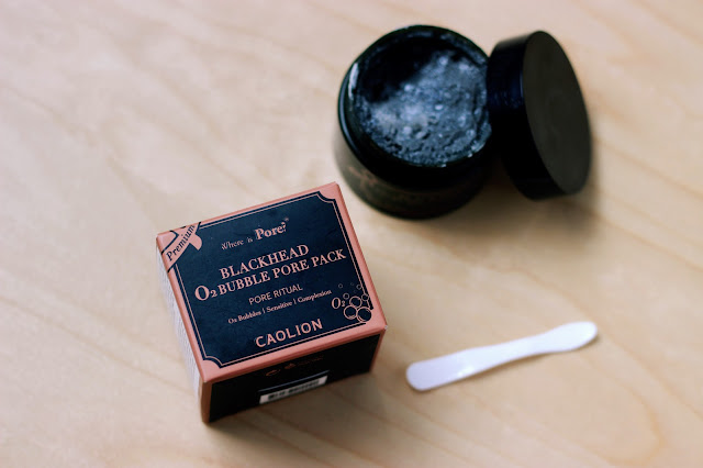 Caolion Blackhead O2 Bubble Pore Pack