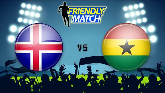 Iceland vs Ghana Full Match Replay 07 June 2018