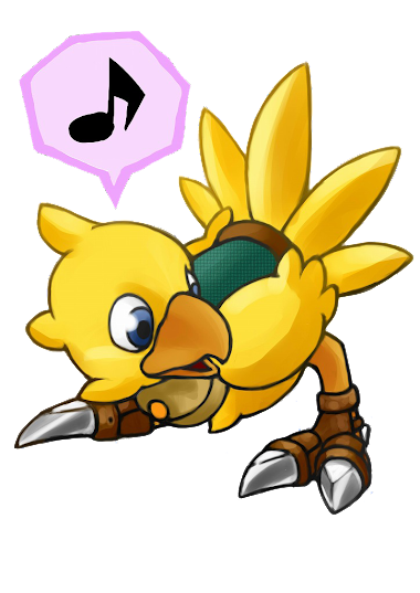 PNG-Chocobo // Final Fantasy