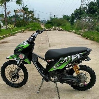 Modif Motor Beat Fi Matic Trail