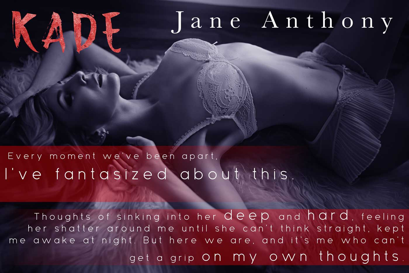 Cover Reveal: Kade (A Second Chance Rock Star Romance) by Jane