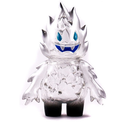 Clear Honoo Vinyl Figure by Leecifer x Super7