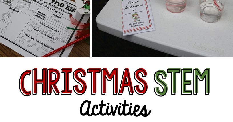 Christmas Stem Activities For 3rd Grade Thecannonballorg