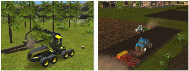 Farming Simulator 16 v1.1.0.2 APK DATA Obb