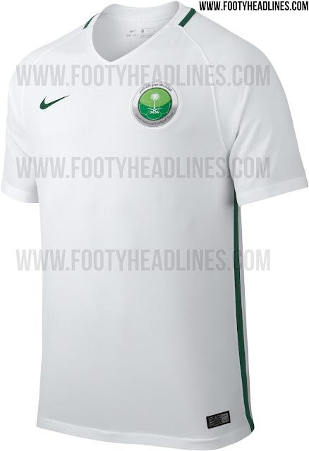 Saudi Arabia 2017 Home Jersey