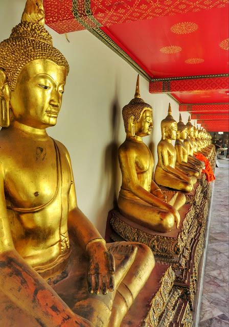 Templos em Bangkok Tailandia