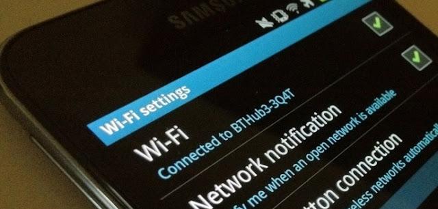 cara agar wifi bisa tersambung di android