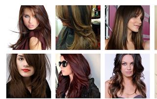 warna rambut coklat keemasan