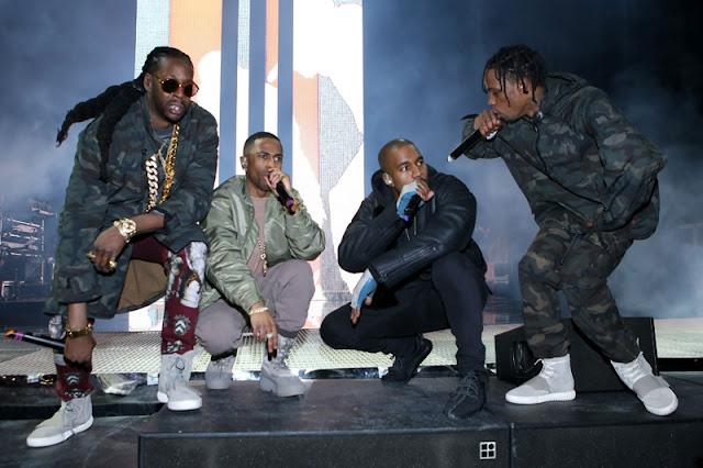 "Kanye West - ""Champions"" f. Gucci Mane, Big Sean, 2 Chainz, Travi$ Scott, Yo Gotti, Quavo & Desiigner"