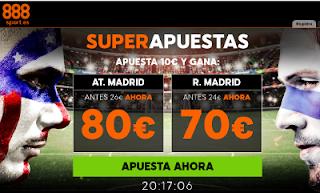 888sport cuota mejorada champions Atletico vs Real Madrid 10 mayo