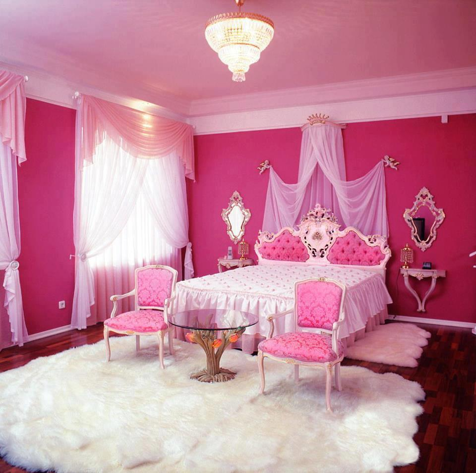 Deko Bilik Tidur Pink