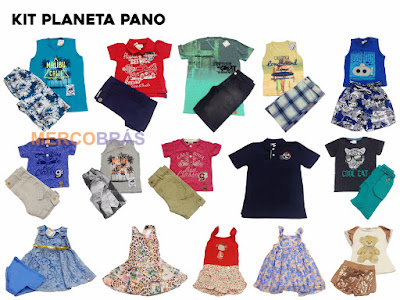 Kit Moda Infantil para Sacoleiras